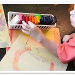 YES! Block crayons (from Waldorf schools) that you can DIY for *cheap!!!* Perfect for my preschooler!