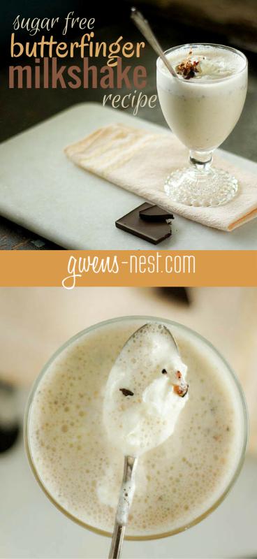 butterfinger milkshake recipe pin