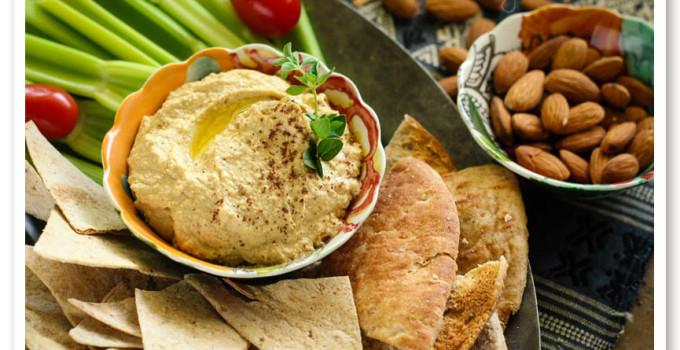 Almond Low Carb Hummus Recipe