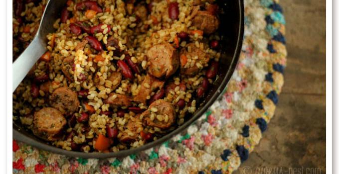 Quick Cajun Dirty Rice Recipe
