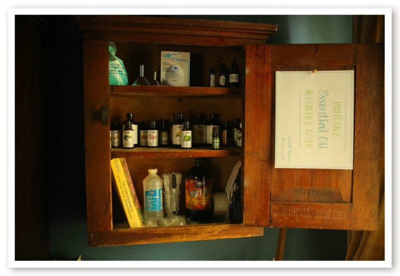 Tour my Essential Oil cabinet- I'll show you my favorite top quality brands, and what accessories I like to use.