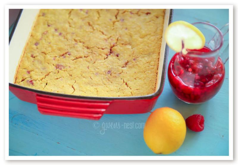 Rock Cake Recipe Low Sugar: Raspberry Lemonade Cake Recipe [THM E]