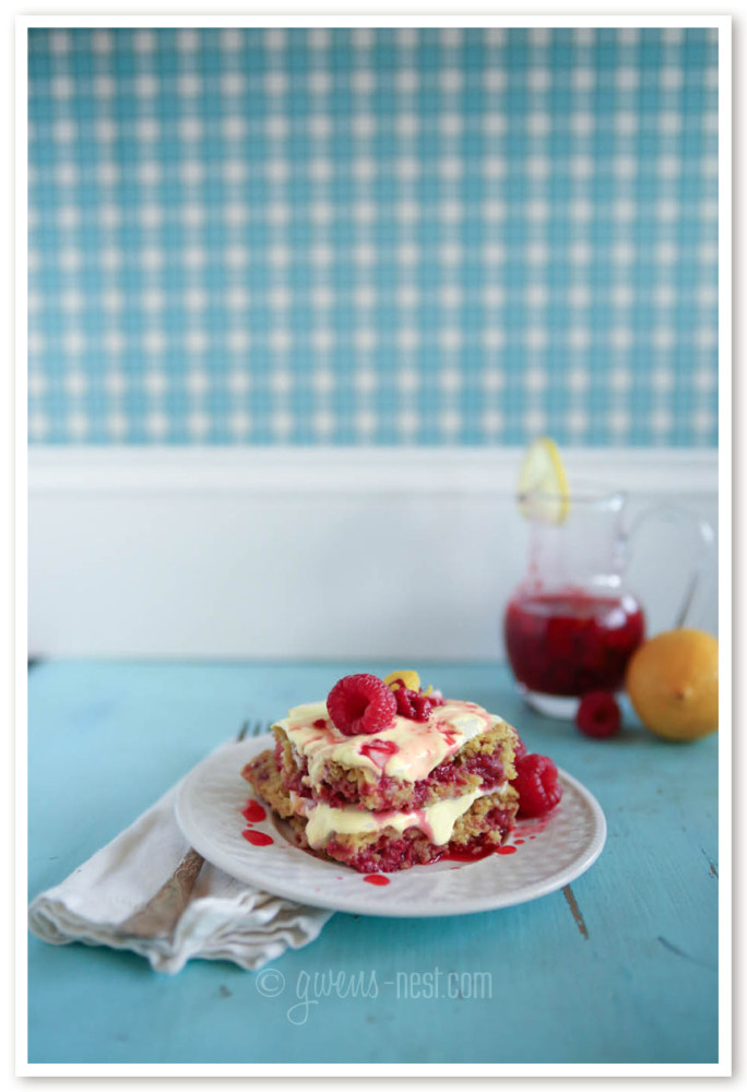 THIS is my favorite! I can't believe it's sugar free!!! Raspberry lemon cake recipe that will rock your world. A THM E recipe.