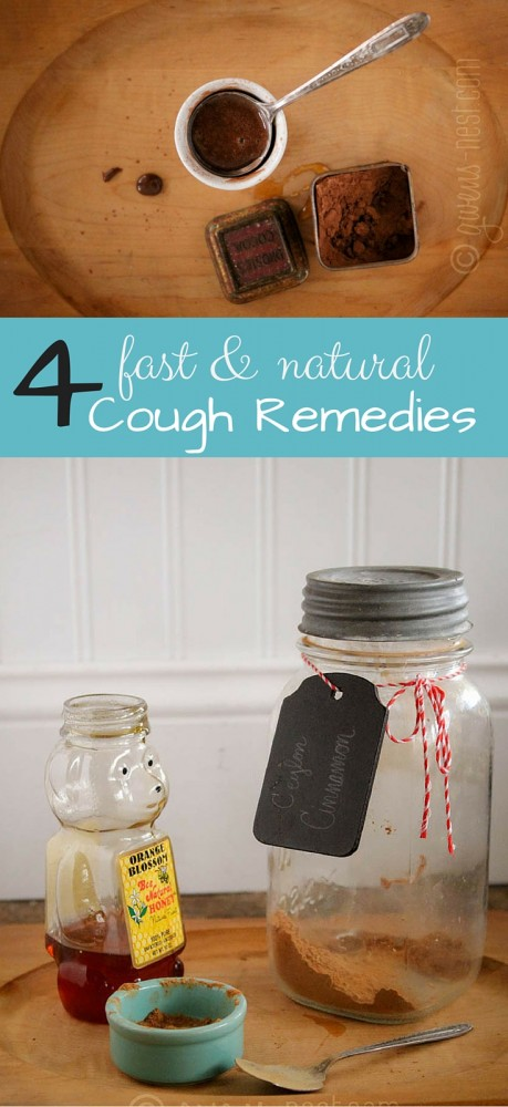 Four FAST natural cough remedies to whip up spur of the moment...GREAT info!
