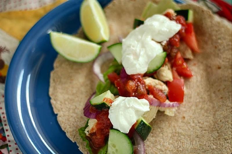 Chicken Tacos 5 Ways THM Gwens-Nest
