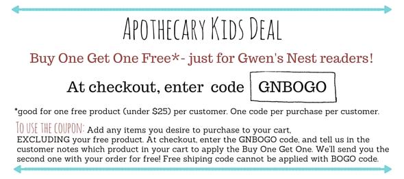 Apothecary Kids coupon