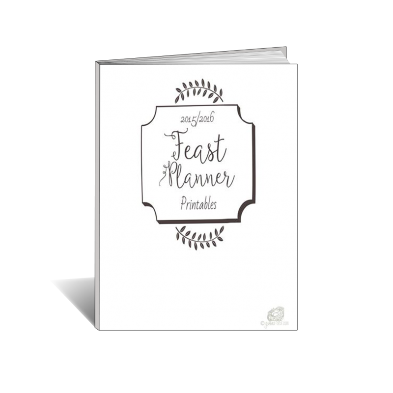 Feast Planning Printables Ebook Mock Up