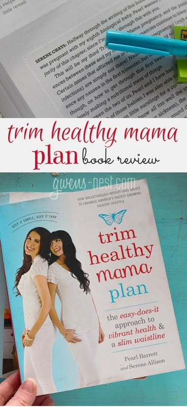 Trim Healthy Plan Book Review pin