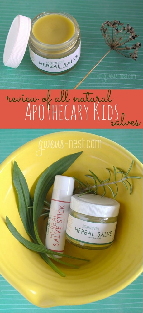 I got to try Apothecary Kids line of natural herbal salves. Check out my review by clicking here!