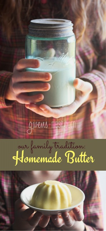 homemade butter recipe pin