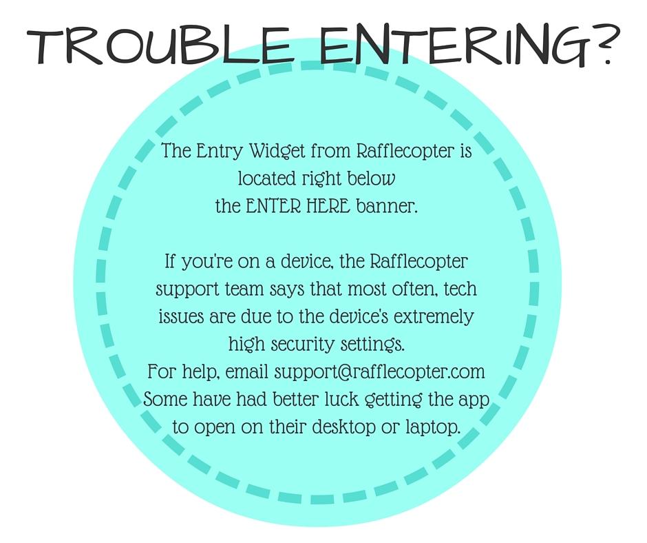 Trouble entering_