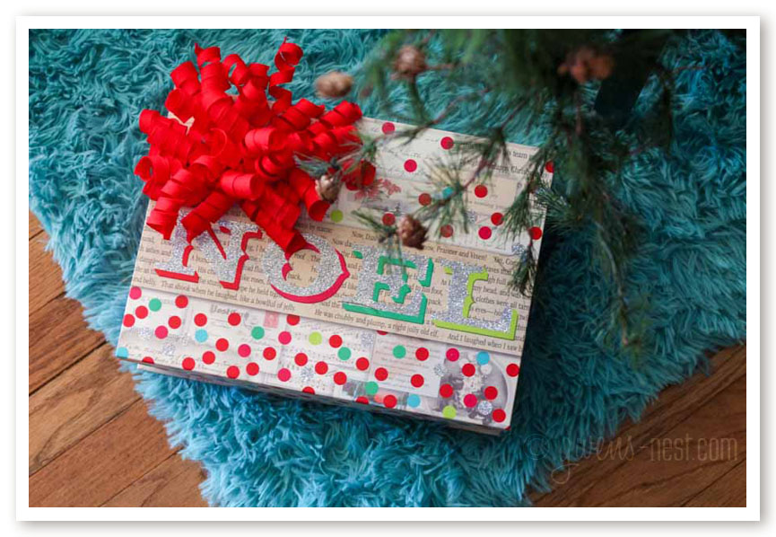 The first box under my Christmas tree is my SANITY box- peek inside for my best Christmas organizing tips!
