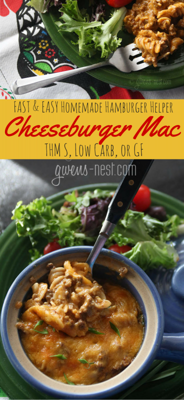 THE BEST hamburger recipe that's done in MINUTES- and it's a THM S recipe!!!