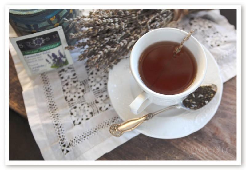 Tulsi Lavender Tea