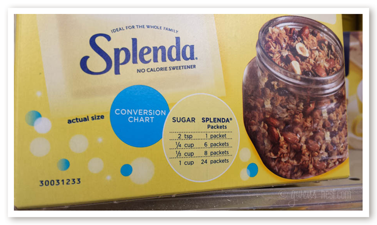 splenda side effects- It's not a natural sweetener, but does it have dangers? Why isn't it promoted on the THM plan?