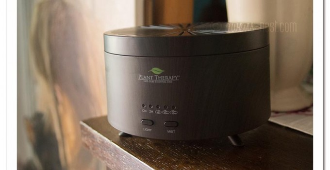 Diffuser Review and Winter Pines Essential Oil Recipe