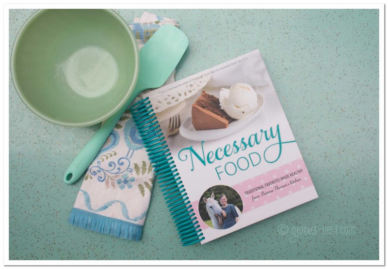 Necessary Food: Low Glycemic Cookbook Review
