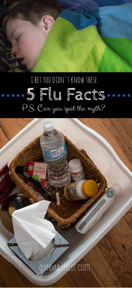 5 flu facts, wellness tips and a surprising myth