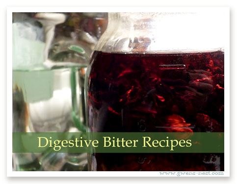 Digestive Bitter Recipes