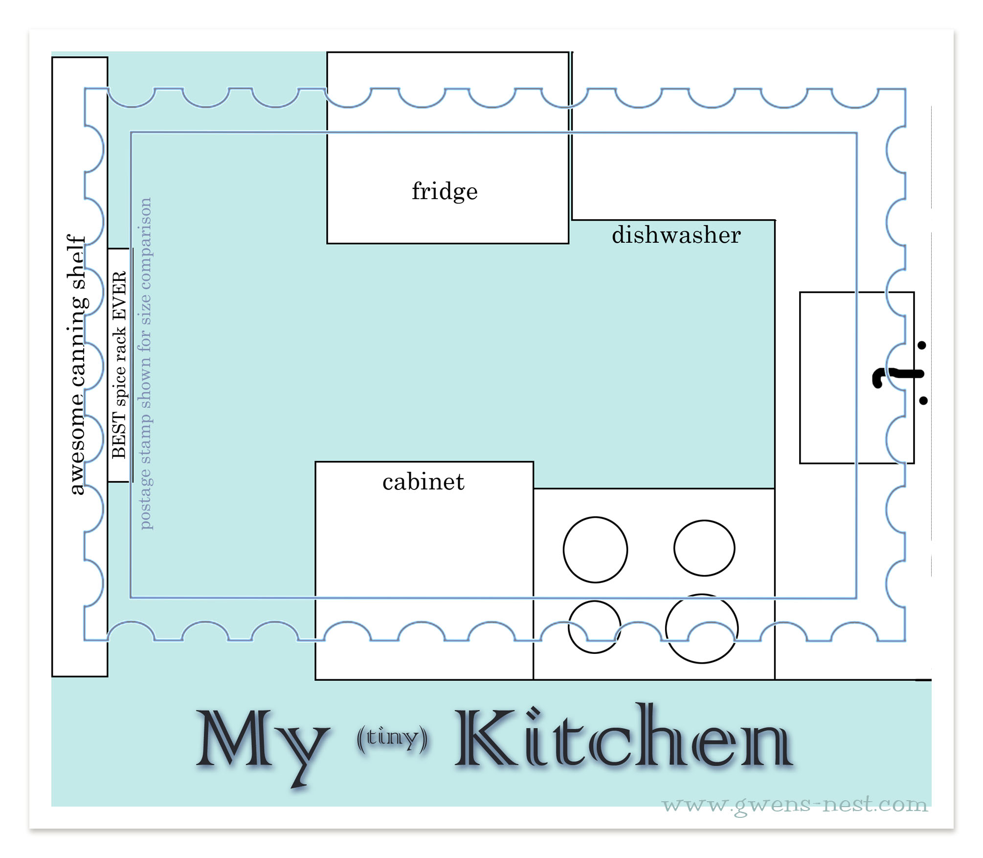 My Tiny Kitchen-After