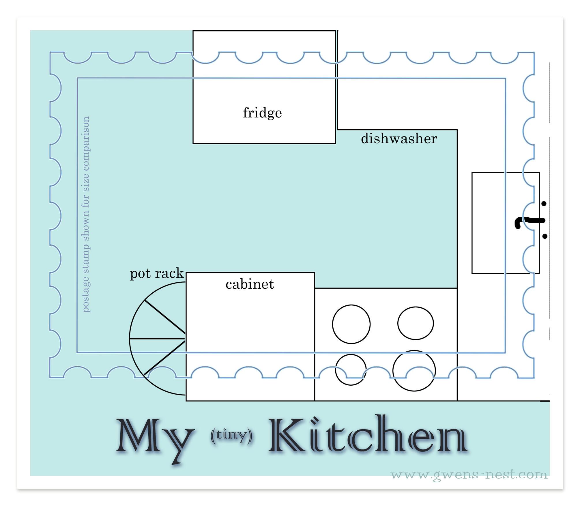 My Tiny Kitchen-before