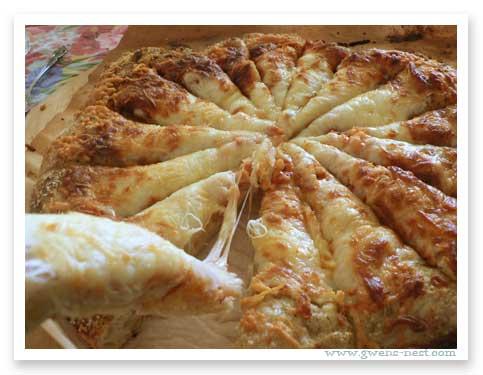 homemade pizza recipe e gwen s nest