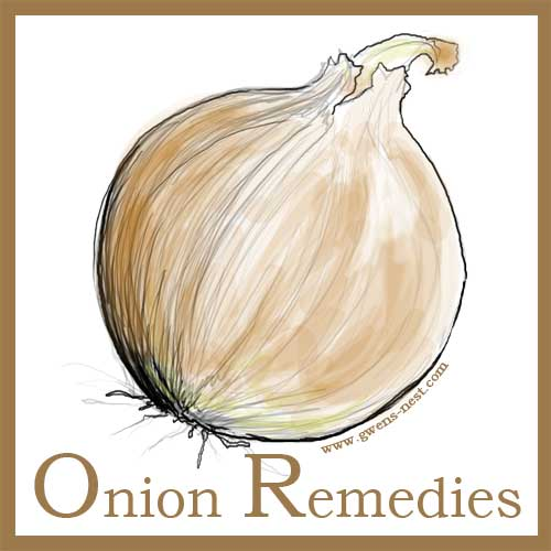 Onion Remedies | Gwen's Nest